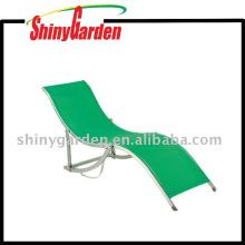 Modern European Style Leisure Beach Garden Aluminium Poolside Lounge Chair