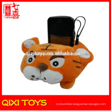 2014 Wholesale Cute plush cell phone holder