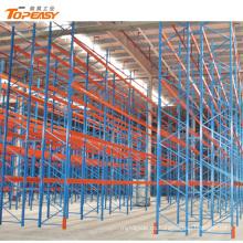Sistema de estanterías móviles de almacén de garantía de comercio pesado de Alibaba