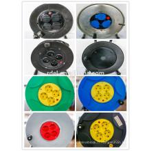Enrouleur de câble UK avec câble H05VV-F 3G1.25 / 1.50mm2 Bobine de rallonge 25M et 50M