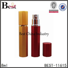 new cosmetics products 2015, aluminum perfume spray atomizer made in china