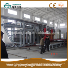 HPL hot press production line/ high pressure press machine/ formica panels production line