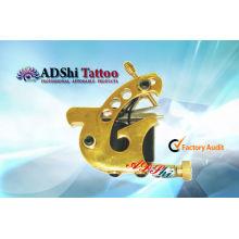 ADShi goldene besondere birdlike Design einstellbare handgefertigte Tattoo Pistole