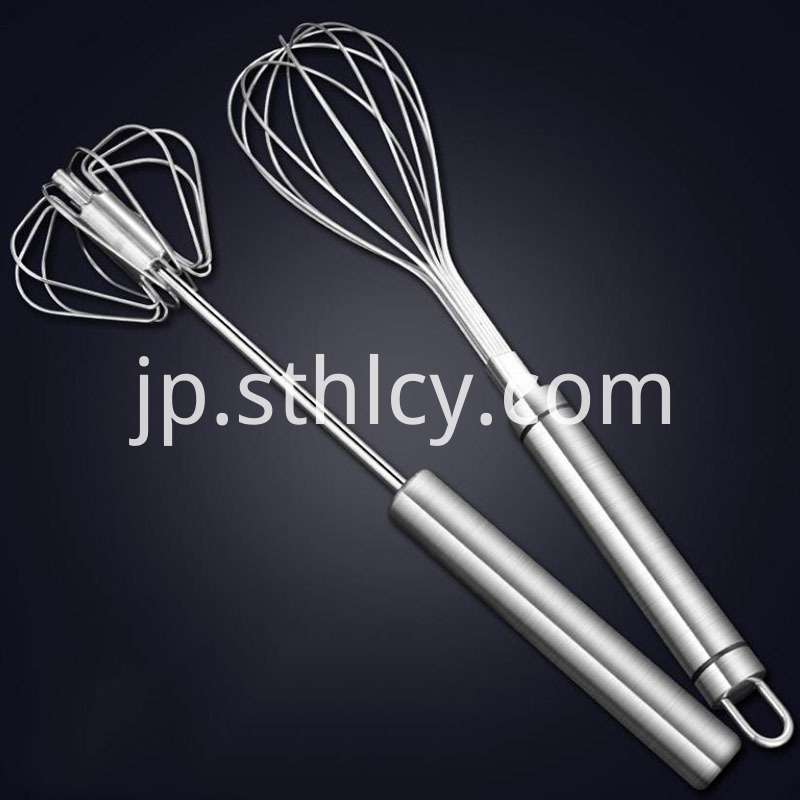Stainless Steel Semi Automatic Egg Whisk