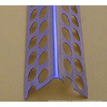Perle d'angle d'angle de cloison sèche en métal perforé galvanisé