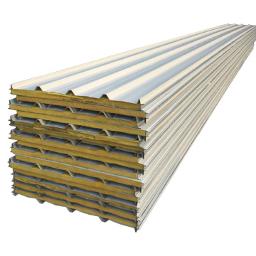 Anti-fire Isolated Rockwool Sandwich Panels