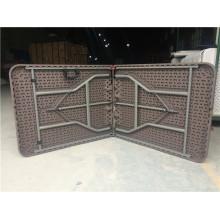 Rattan Plastic Folding Table Set