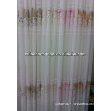 2013 new design embroidered sheer curtains