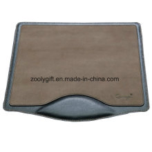 Diseño personalizado PU Leather Mousepad with Logo with Write Rest