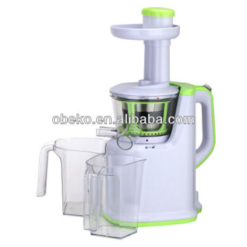Limpiador eléctrico de naranja blanco y verde eléctrico AJE318