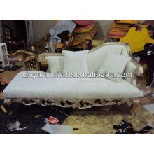 Color blanco Silla de sofá real 021