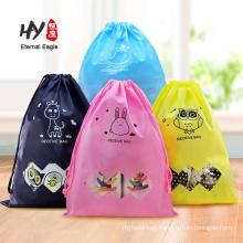 promotional cheap reusable 120gsm strong grocery non woven drawstring bag