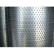 Hoja perforada de metal (agujero redondo)
