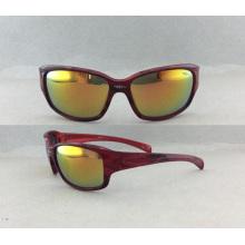 2016 Ventas calientes y estilo de moda de las gafas para las gafas de sol de los deportes de los hombres (P10004)