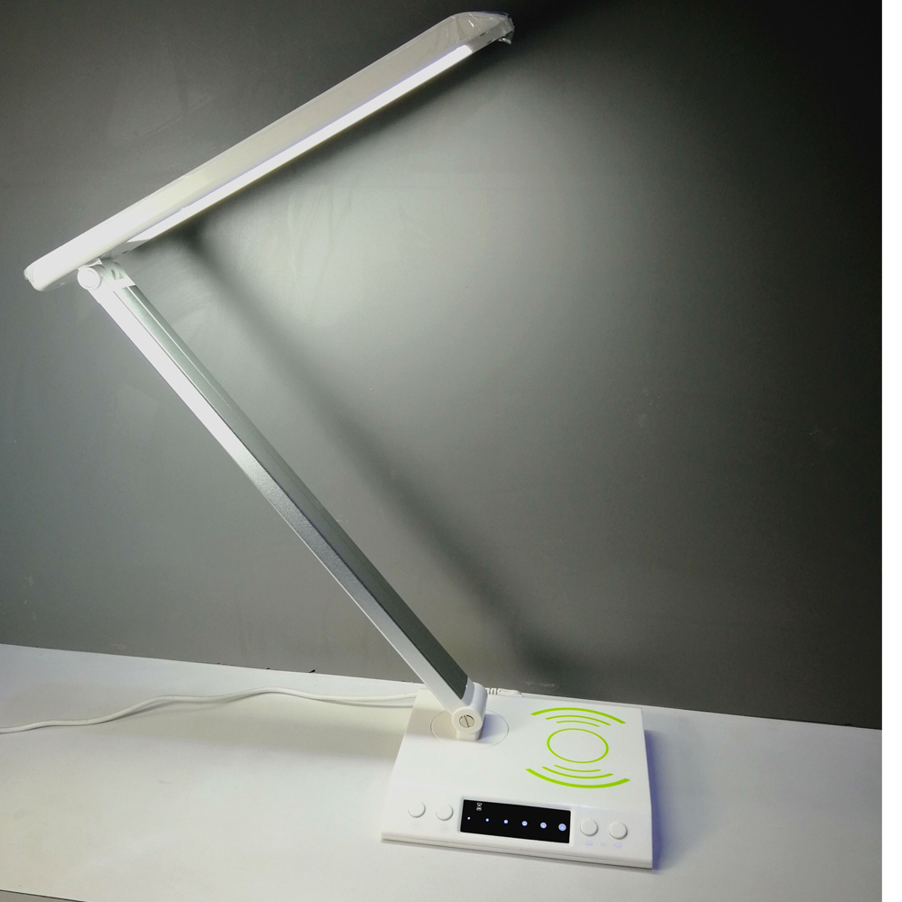 wireless charger led desk lamp for iphone x-2