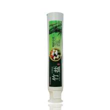 Embalagem de tubo de pasta de dentes de material PBL com tampa de pé