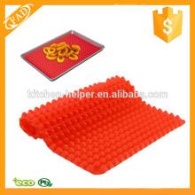 Preço de fábrica Multi-função Silicone Pyramid Baking Mat
