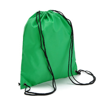 Backpack Style Nylon Drawstring Bag