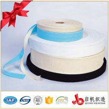 Organic elastic cotton webbing bias binding tape