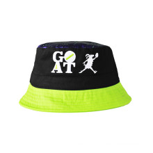 Конструкция характера Хлопок Холст Sun Hat ведро Hat (U0054)