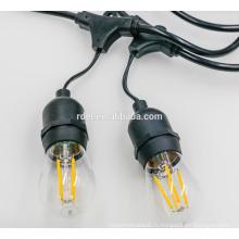 SL-40 Usine vente directe de bonne qualité chaîne de lumière titulaire de la lampe cordon d'alimentation
