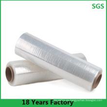 Película de estiramiento de materiales PE sin contaminación