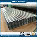 Largeur 810mm métal galvanisé feuille de toiture ondulée