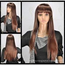 Fashional кружево синтетический прямой парик (модель-ЕО-С1)