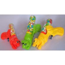 Tiger Water Gun with Candy (100805)