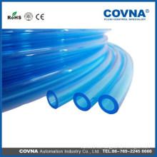 Tubo de plástico blando expandible transparente