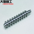 Custom Precision Machine Parts Auger Threaded Shaft Products