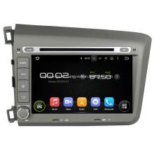 Гражданский автомобиль 2012 DVD-плеер с GPS для Honda
