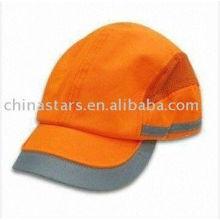Orange EN471 casquette de baseball de sécurité
