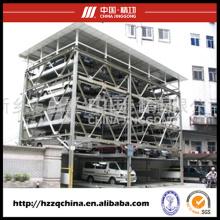 Garaje de estacionamiento automatizado y ascensor suministrado en China