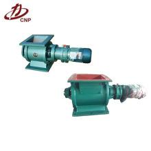 Válvula de esclusa de aire rotativa utilizada en la descarga de cenizas