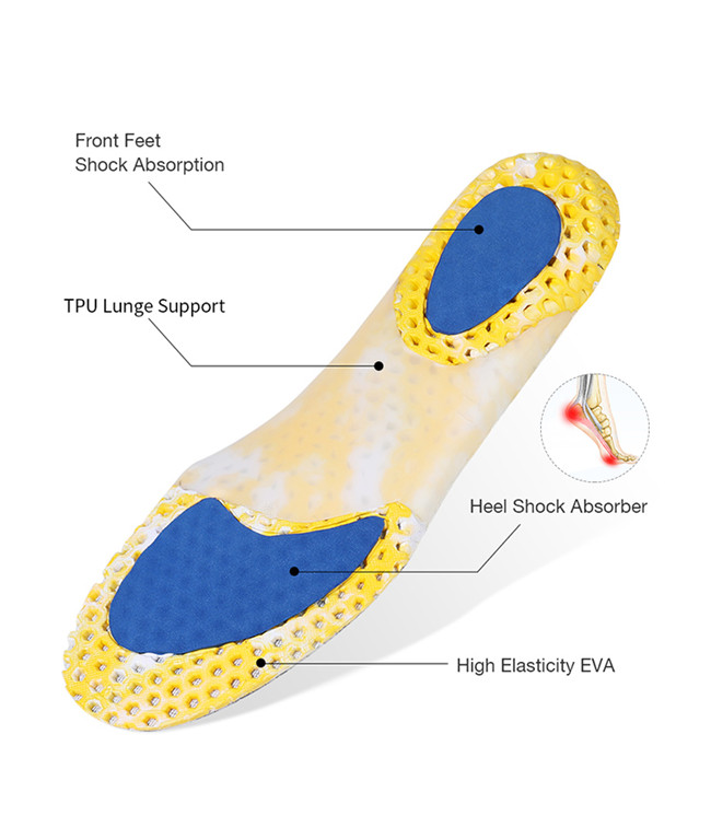 Honeycomb support insole bottom is introduced
