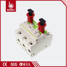 480V-600V Brady Safety Air Electrical Circuit Breaker Lockout POW (Pin Out Wide ),with CE ROHS OSHA certification