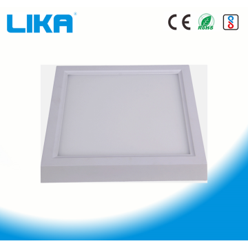 Panel de luz LED montado en superficie cuadrada de 24W