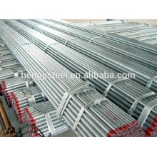 Tubo de acero galvanizado en caliente caliente BS1387 estándar