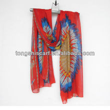 новый импорт шарф для леди одежда мода
