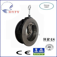Finely processed rubber flap valve