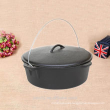 camp tech cast iron cauldron for travel