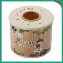 Round Top Cartoon Tissue Boxes (FF-5008-1)