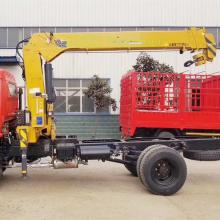 Автокран на 4 тонны с дистанционным управлением