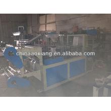 Control de computadora rodando camiseta y bolsa plana que hace máquina de sellado lateral bolsa de polietileno que hace la máquina