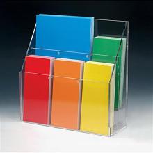 Professional Custom Acrylic Brochure Display/ Acrylic Display Stand Wholesale