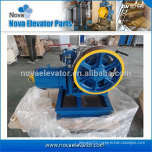 Elevator part 1600KG 2000KG capacity gearless traction machine