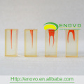 EN-N8 Differing Degree Curvature Inside Root Canals Transparent Block S4