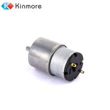 Motor de engranaje cepillado CC de 10 rpm y 12 V de alto torque y bajo rpm suministrado por Kinmore Motor