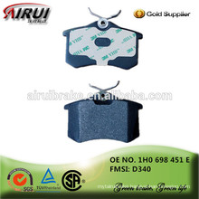 High quality hot sales Brake pads , auto parts Chinese manufacturer 1H0 698 451 E /D340